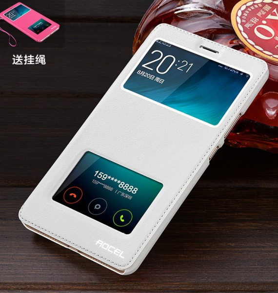 Husa Smart View pentru Xiaomi Redmi Note 4/ Note 4X 2