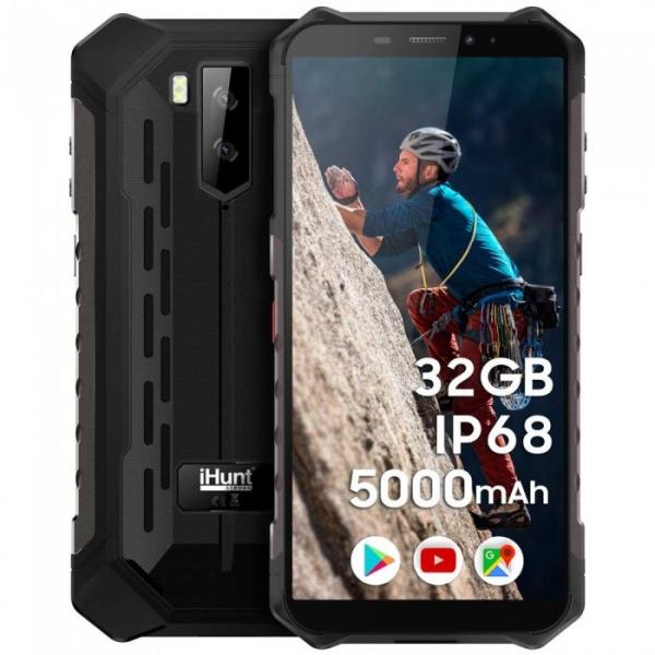 Telefon mobil iHunt S10 Tank PRO 2020 negru 0