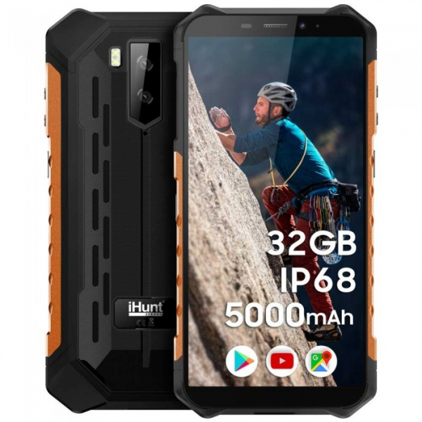 Telefon mobil iHunt S10 Tank PRO 2020 orange 0