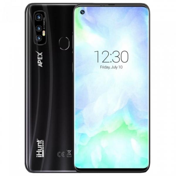 Telefon mobil iHunt S20 Ultra ApeX 2021, 4G, IPS 6.55 , 3GB RAM, 32GB ROM, Android 10, MTK6737V QuadCore, 5000mAh, Dual SIM, Negru
