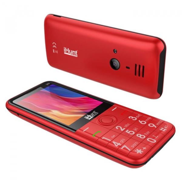Telefon mobil iHunt i3 3G rosu 3