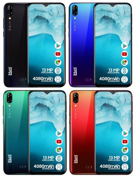 Telefon mobil iHunt Alien X Lite 2020,6.1 inch, MediaTekMT6580A, 1GB RAM, 16GB ROM,Android 8.1 Oreo GO, Quad Core, 4080mAh 0