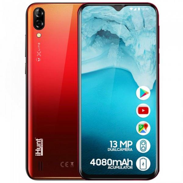 Telefon mobil iHunt Alien X Lite 2020,6.1 inch, MediaTekMT6580A, 1GB RAM, 16GB ROM,Android 8.1 Oreo GO, Quad Core, 4080mAh 17