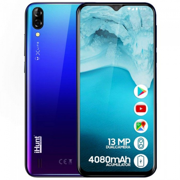 Telefon mobil iHunt Alien X Lite 2020,6.1 inch, MediaTekMT6580A, 1GB RAM, 16GB ROM,Android 8.1 Oreo GO, Quad Core, 4080mAh 7