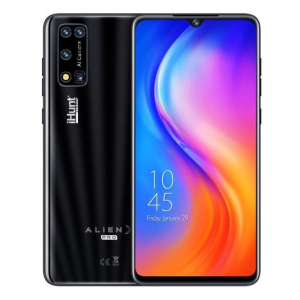 Telefon mobil iHunt Alien X Pro 2021 Negru, 4G, IPS 6.3 , 2GB RAM, 16GB ROM, Android 10, Spreadtrum SC9832E, Dual SIM, 3500mAh