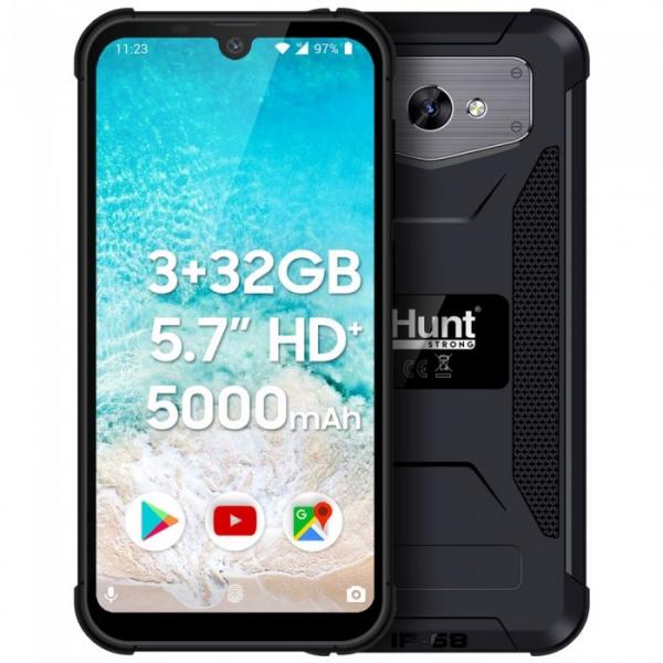 Telefon mobil iHunt S60 Discovery PRO 2020 Negru Resigilat, 4G, IPS 5.71 , Android 9.0, 3GB RAM, 32GB ROM, QuadCore, 5000mAh, Dual SIM
