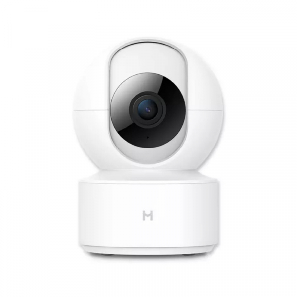 Camera IP smart de supraveghere FHD Xiaomi IMILAB IPC-016 Alb Global, 360 grade, Wi-Fi, Cloud, Night vision, Detectare planset copil, H.265 imagine
