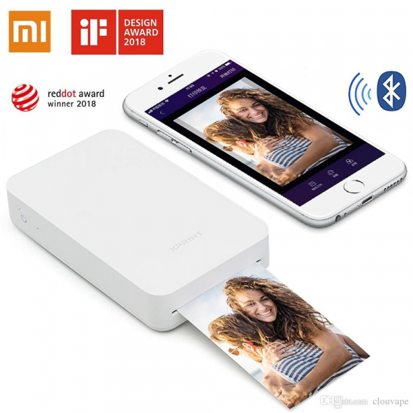 Imprimanta foto portabila Xiaomi XPrint, Wireless, Bluetooth, AR, NFC, 650 mAh 0