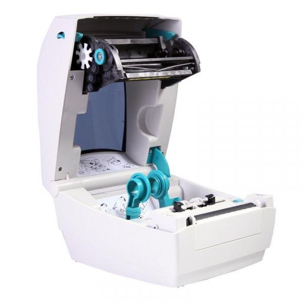 Imprimanta termica Zebra GK888t pentru etichete, 104mm, 203dpi, 8MB RAM, 8MB ROM, USB 4