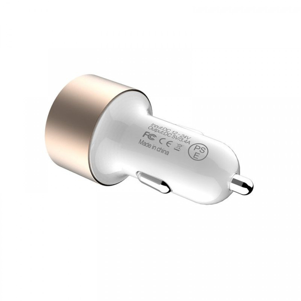 Incarcator auto Nillkin Vigor, incarcare rapida, protectie incarcare, 2 porturi USB, indicator led la incarcare 6