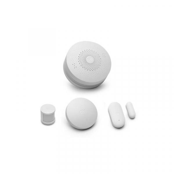 Kit inteligent de securitate pentru acasa Xiaomi Smart Home, Senzor miscare, Senzor Usa, Senzor Temperatura, Alarma 1