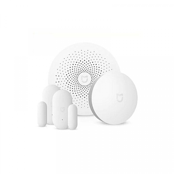 Kit inteligent de securitate pentru acasa Xiaomi Smart Home, Senzor miscare, Senzor Usa, Senzor Temperatura, Alarma 0