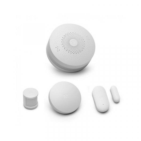 Kit inteligent de securitate pentru acasa Xiaomi Smart Home, Senzor miscare, Senzor Usa, Senzor Temperatura, Alarma 4