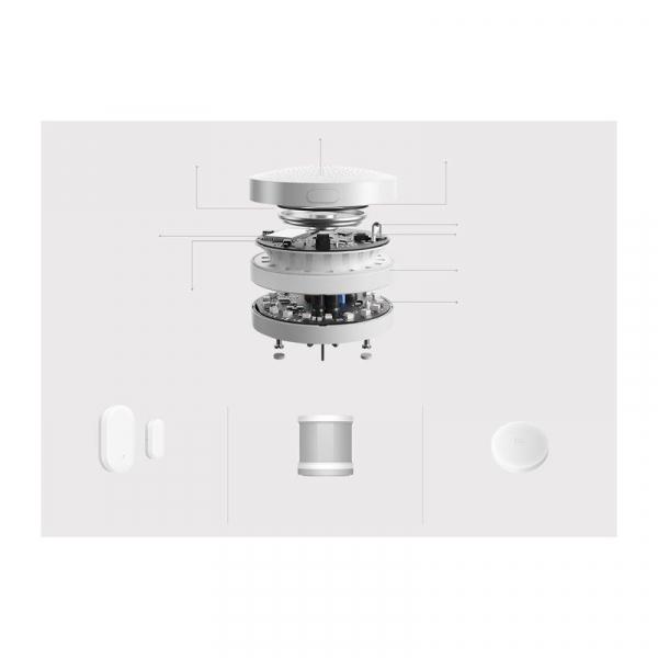 Kit inteligent de securitate pentru acasa Xiaomi Smart Home, Senzor miscare, Senzor Usa, Senzor Temperatura, Alarma 2