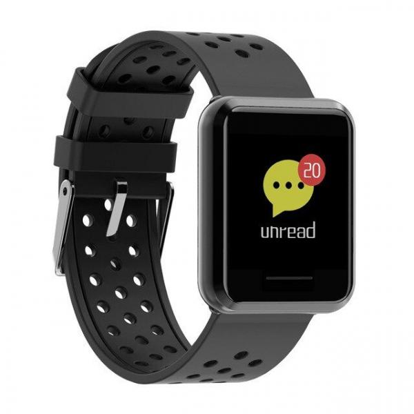 Smartwatch Kospet DK08, Multi-Sport, 1.28inch, Bluetooth, Waterproof IP67, 110mAh,compatibil IOS si Android 2