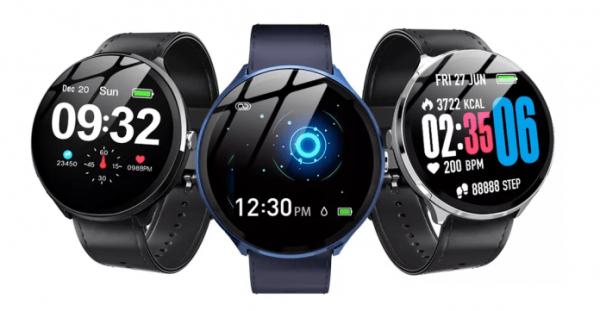Smartwatch Kospet V12, 1.3inch, Waterproof IP67, Ritm cardiac, Monitorizare somn, Bluetooth 4.0,Fitness Tracker 0