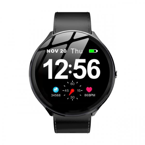 Smartwatch Kospet V12, 1.3inch, Waterproof IP67, Ritm cardiac, Monitorizare somn, Bluetooth 4.0,Fitness Tracker 3