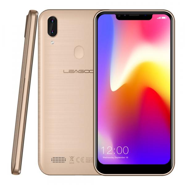 Telefon mobil Leagoo M11, 4G, 2GB RAM, 16GB ROM, Android 8.1, 6.18 inch, MTK6739 QuadCore, 4000mAh,Amprenta, Face ID 2
