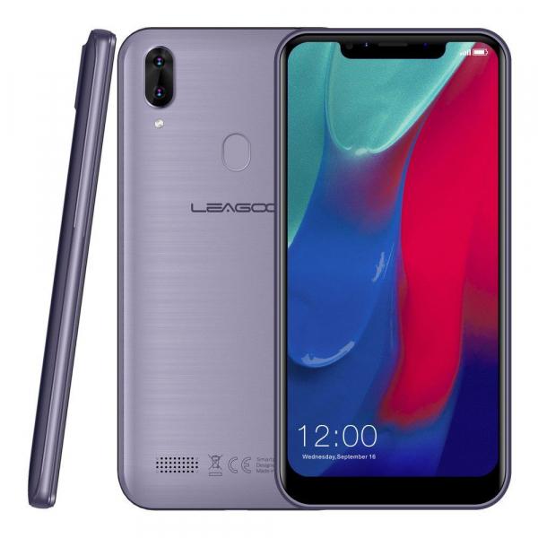 Telefon mobil Leagoo M11, 4G, 2GB RAM, 16GB ROM, Android 8.1, 6.18 inch, MTK6739 QuadCore, 4000mAh,Amprenta, Face ID 3