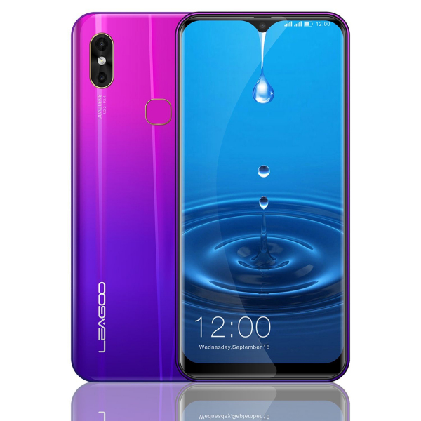 Telefon mobil Leagoo M13, 4G, 4GB RAM, 32GB ROM, Android 9.0, 6.1 inch Waterdrop Screen, MTK6761 QuadCore, Amprenta, Face ID 3