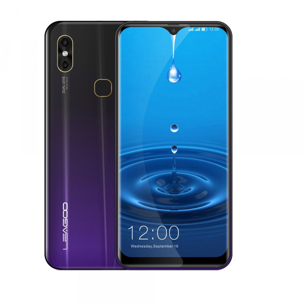 Telefon mobil Leagoo M13, 4G, 4GB RAM, 32GB ROM, Android 9.0, 6.1 inch Waterdrop Screen, MTK6761 QuadCore, Amprenta, Face ID 2