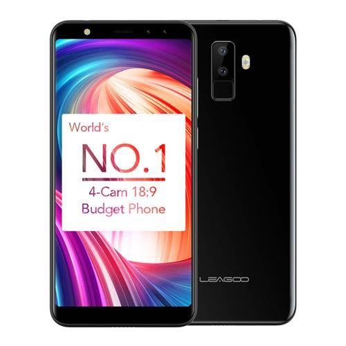 Telefon mobil Leagoo M9, 2GB RAM, 16GB ROM, Android 7.0, 5.5 inch 18:9 Full Screen, MT6580A QuadCore,Amprenta 3