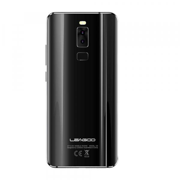 Telefon mobil Leagoo S8, 4G, 3GB RAM, 32GB ROM, Android 7.0, 5.72 inch Full Display, MTK6750T OctaCore,3050mAh,Amprenta 3