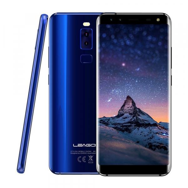 Telefon mobil Leagoo S8, 4G, 3GB RAM, 32GB ROM, Android 7.0, 5.72 inch Full Display, MTK6750T OctaCore,3050mAh,Amprenta 5