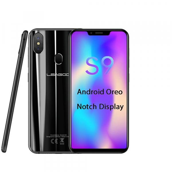 Telefon mobil Leagoo S9, 4G, 4GB RAM, 32GB ROM, Android 8.1, 5.85 inch HD+ IPS, MT6750 Octa Core, 3300mAh, Dual SIM 4