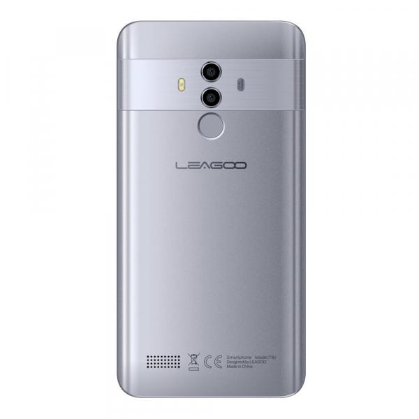 Telefon mobil Leagoo T8S, 4G, 4GB RAM, 32GB ROM, Android 8.1, 5.5 inch, MTK6750T Octa Core, Face ID, Dual SIM 3