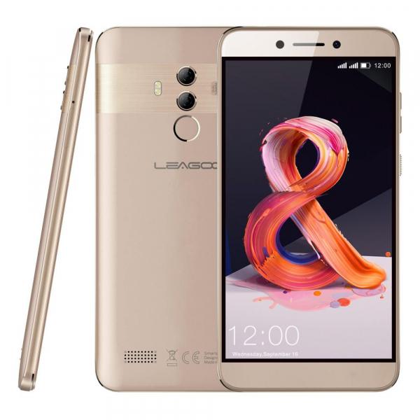 Telefon mobil Leagoo T8S, 4G, 4GB RAM, 32GB ROM, Android 8.1, 5.5 inch, MTK6750T Octa Core, Face ID, Dual SIM 4
