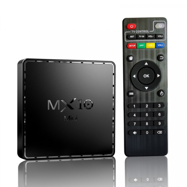TV Box MX10 Mini 4K 1/8 5