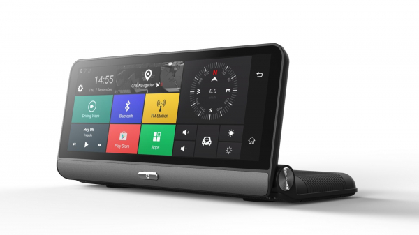 Navigator pentru bord Star E09 DVR 4G, Android 5.0, GPS, 8 inch, 1GB RAM 16GB ROM, Wifi, Bluetooth, Camera fata spate 1