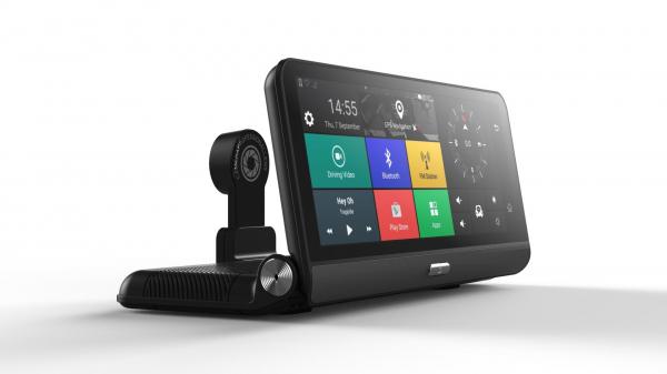 Navigator pentru bord Star E09 DVR 4G, Android 5.0, GPS, 8 inch, 1GB RAM 16GB ROM, Wifi, Bluetooth, Camera fata spate 2