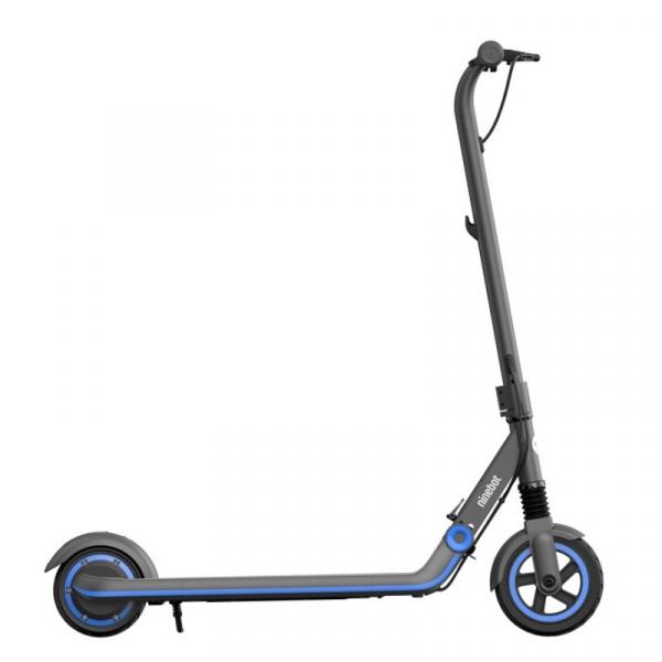 Trotineta electrica pliabila Segway Ninebot eKickScooter Zing E10 Gri, 200W, Autonomie 10km, Viteza maxima 16km h, IPX4