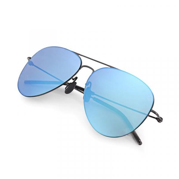 Ochelari de soare colorati polarizati Xiaomi Turok Steinhardt TS, Rame din oțel inoxidabil, Protectie UV, Unisex 8