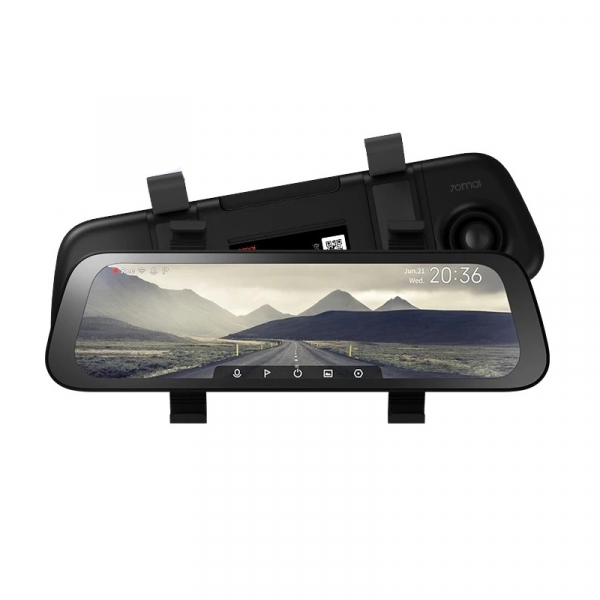 Oglinda retrovizoare smart Xiaomi 70MAI 2020 Rearview Dash Cam Wide D07 imagine 2021