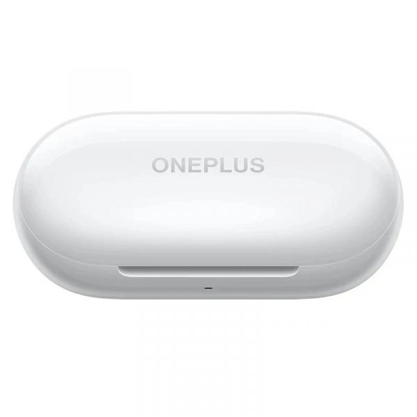 Casti bluetooth semi-in-ear OnePlus Buds Z Alb cu cutie de incarcare si transport, Bass Boost, Microfon, Bluetooth v5.0, Incarcare rapida 4