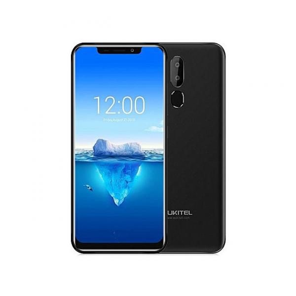 Telefon mobil Oukitel C12 Pro, 6.18 inch 19:9, Android 8.1,MediaTek MT6739 QuadCore, 2GB RAM, 16GB ROM, Face ID, Amprenta, 3300mAh 4