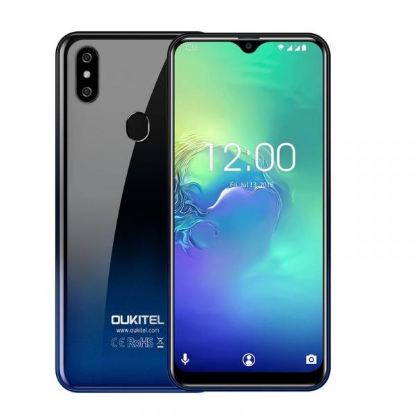 Telefon mobil Oukitel C15 Pro+, IPS 6.09inch,3GB RAM, 32GB ROM, Android 9.0, QuadCore, Face ID, Amprenta, Dual SIM 11