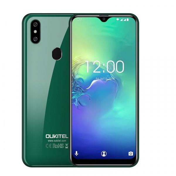 Telefon mobil Oukitel C15 Pro+, IPS 6.09inch,3GB RAM, 32GB ROM, Android 9.0, QuadCore, Face ID, Amprenta, Dual SIM 8