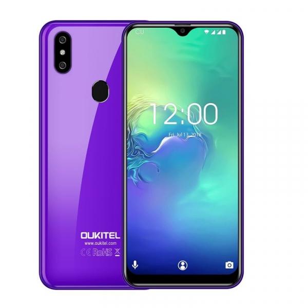 Telefon mobil Oukitel C15 Pro+, IPS 6.09inch,3GB RAM, 32GB ROM, Android 9.0, QuadCore, Face ID, Amprenta, Dual SIM 1