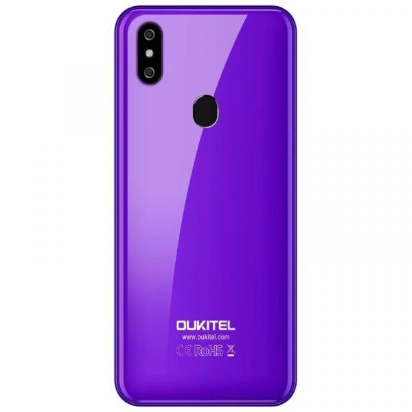Telefon mobil Oukitel C15 Pro+, IPS 6.09inch,3GB RAM, 32GB ROM, Android 9.0, QuadCore, Face ID, Amprenta, Dual SIM 3