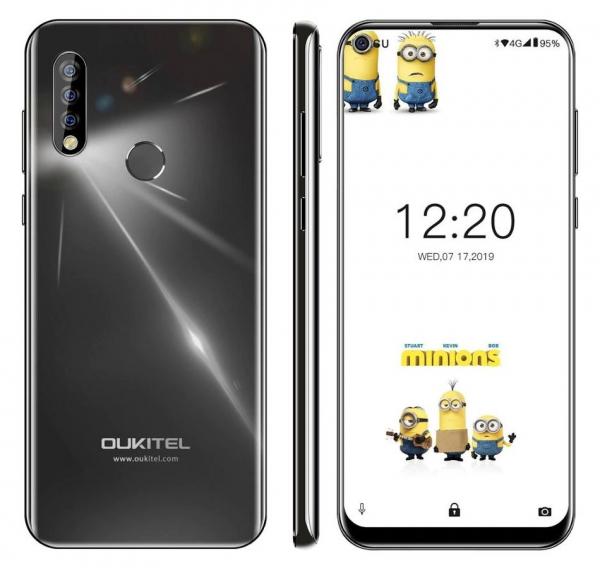 Telefon mobil Oukitel C17,IPS 6.35 inch, 3GB RAM, 16GB ROM, Android 9.0, MT6763, ARM Mali-G71 MP2, Octa Core,3900mAh, Dual Sim 4