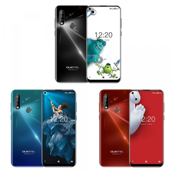 Telefon mobil Oukitel C17 Pro, 4GB RAM, 64GB ROM, Android 9.0, MediaTek Helio P23, ARM Mali-G71 MP2, Octa Core, IPS 6.35 , 3900mAh, Dual SIM imagine