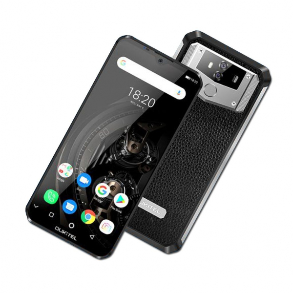 Telefon mobil Oukitel K12, IPS 6.3inch, Android 9.0, 6GB RAM, 64GB ROM,MT6765 OctaCore, 10000mAh, Amprenta, Dual SIM 1