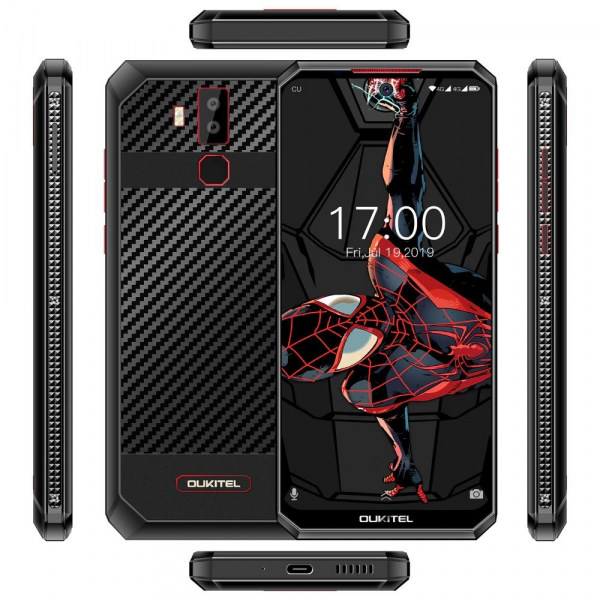 Telefon mobil Oukitel K13 Pro, IPS 6.41inch, 4GB RAM, 64GB ROM, Android 9.0,Helio P22 OctaCore,PowerVR GE8320, 11000mAh, Dual SIM 4