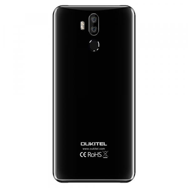 Telefon mobil Oukitel K9, Waterdrop 7.12 inch FHD+, 4GB RAM, 64GB ROM, 6000mAh, Android 9.0, Face ID, Dual SIM 2