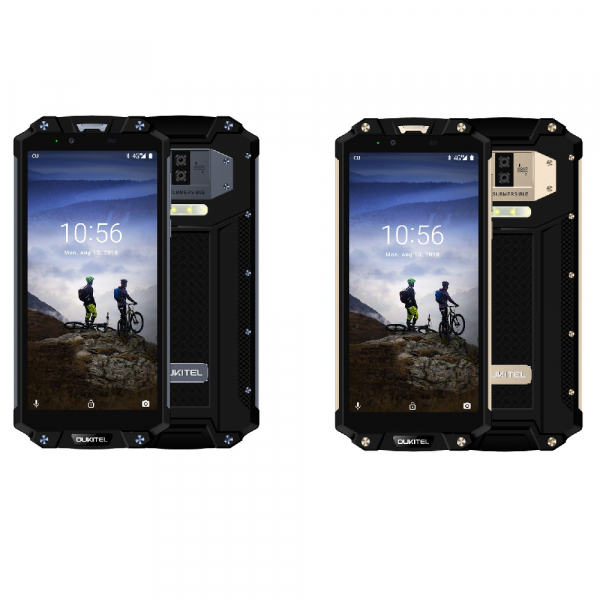 Telefon mobil Oukitel WP2, 4G, Waterproof IP68, Android 8.0, 10000mAh, 4GB RAM, 64GB ROM, 6.0 inch 18:9, OctaCore, Amprenta, NFC 0