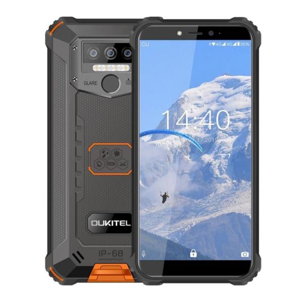 Telefon mobil Oukitel WP5 Lite,IPS 5.5inch, 3GB RAM, 32GB ROM, Android 9.0, Helio A22, PowerVR GE8320, Dual SIM,Quad Core, 8000mAh 4